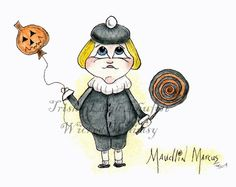 Maudlin Marcus Wicked Whimsy Series (c) 2013 Trisha Leigh Shufelt
