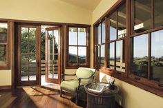 @pellawindows Architect Series: Go for these top-of-the-line wood or wood-clad models, which have thicker jambs and better detailing.