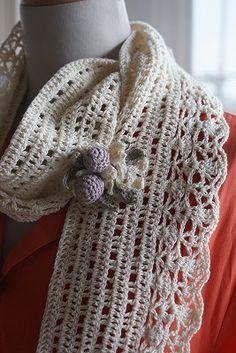 simple scarf crochet, crochet flowers, books, crochet book, inspiration