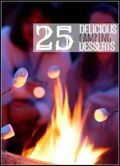 25 Delicious Camping Desserts ~ Tipsaholic.com #camping #dessert