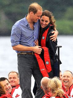 Princess Katherine and Prince William, so sweet