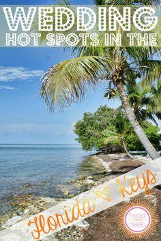 Destination Wedding Hot Spots: The Florida Keys & Key West | 10 Unique Destination Wedding Venues in the Keys... something for everyone!