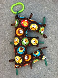 Custom Taggie toy