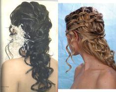 peinado de novia, pelo largo