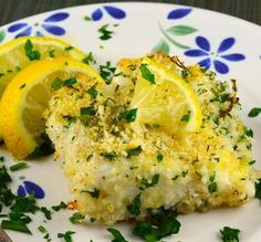 "Easy Oven-Baked Cod: ""This was such an easy, great recipe! I loved the lemon zest in the breadcrumb mixture.""  -Maven in the Making"