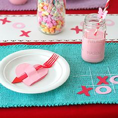 cute place setting for a little one