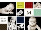 Birth Announcement - Poster. $15.00, via Etsy.