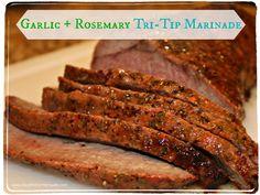 Garlic Rosemary Tri Tip Marinade