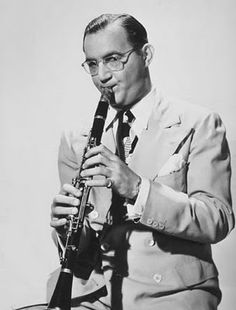 Benny Goodman, The King of Swing, American jazz and swing musician, clarinetist and bandleader into the Big Band era in the 1930's