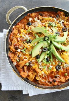Chicken Enchiladas In A Skillet. True slow baked, authentic enchilada flavor in less than 15 minutes.