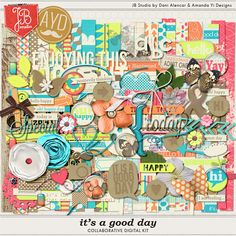 It's a Good Day Collab with Amanda Yi Designs.