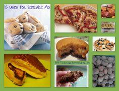 15 Uses for Pancake Mix
