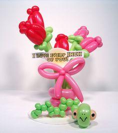 Valentine Balloon Art