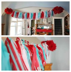 Red and Teal Wedding | Baby Shower Ideas - Bicycle Theme Baby Shower Ideas | Pear Salad a ...