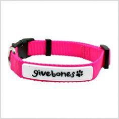 Flourescent Pink Collar #dogs #Valentines #giveback