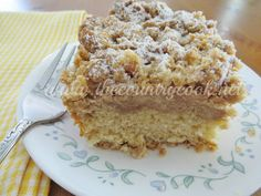 Jersey Girls' Delight! Double Crumb Cake