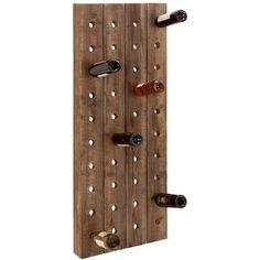Plank Wine Rack