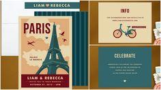 wedding invitations, destination weddings