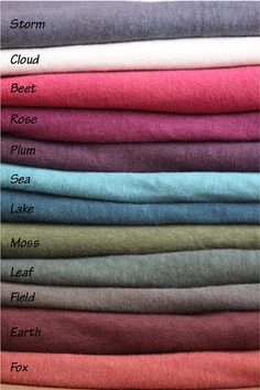 Organic Hemp and Cotton Fleece Pocket Skirt Mid Calf by MtnLotus, $75.00
