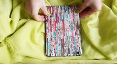 DIY iPad Case out of Magazines 4