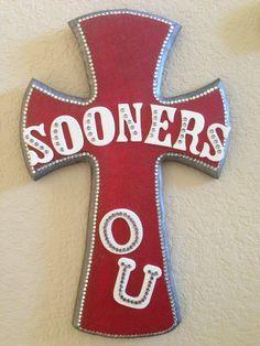 OU Sooners Cross