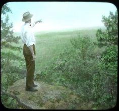 Kentucky Mountains Looking Toward Tenn.- Elmer L. Foote Lantern Slide Collection, ca. 1900-1915 (Lexington Public Library)