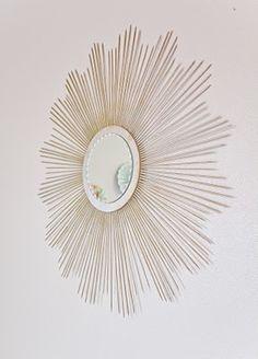 Another DIY sunburst mirror