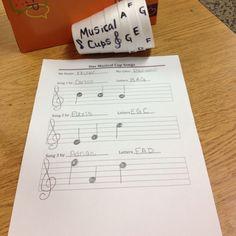 musical cups center