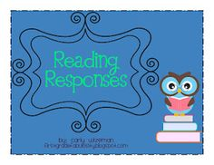Reading Response Activities for Reading Journals :)