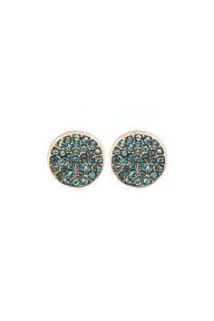 Blue Crystal Earrings