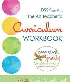 Art Curriculum Guide Workbook Supplement for grades 7-12