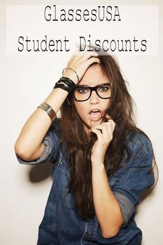 Get a student discount at GlassesUSA! #glasses