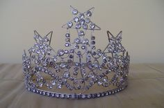 OES Order of The Eastern Star Vintage Rhinestone Tiara Crown Fraternal Masonic | eBay