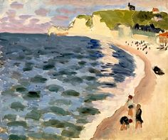 the sea by henri matisse, 1921.