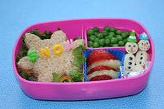 bento box, kid lunches, bento lunch, school lunch, christma theme, kids lunch boxes, christmas themes, snowflak, bento addict