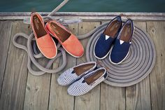 Ahoy! Love the new #TOMS Nautical Biminis