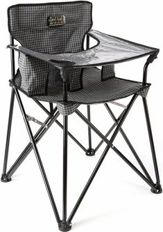 Baby Portable High Chair - Black