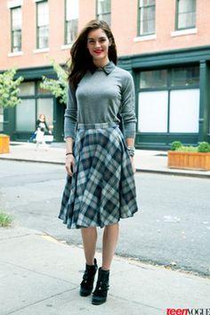fashion weeks, woman fashion, kilt, new york fashion, fashion choic, colleg