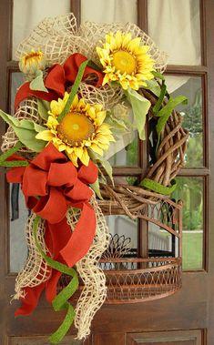 sunflower-wreath