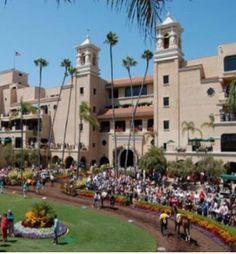 Del Mar Racetrack in San Diego, practically grew up at this track.