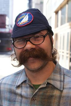 The Coolest Moustache of all time! by drew*in*chicago, via Flickr