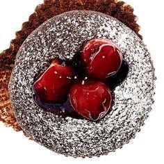 Bourbon Cherry Cordial Cupcakes