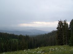 high in the rockies
