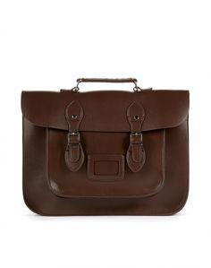 Brown Satchel Bag