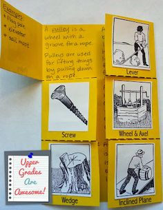 Simple Machines and Rube Goldberg Inventions