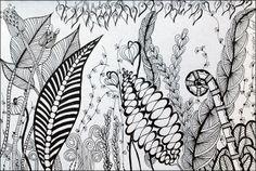my tangled garden - The Creators Leaf