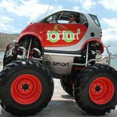 monster smart car
