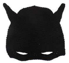 Batman Hat black winter warm superhero comic by HimalayaHardware, $14.99 hat black, batman hat, superhero comic