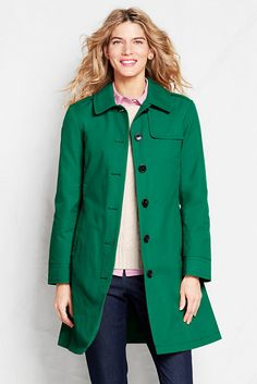 Women's Harbor Trench Coat from Lands' End