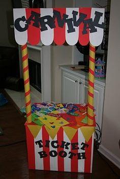 Fall Festival Booth Ideas | Carnival Birthday Party - Birthday Party Ideas